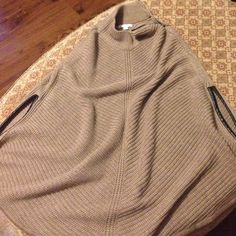 BRAND NEW Poncho Received as a gift and never worn. Tags still attached. New York & Company Jackets & Coats