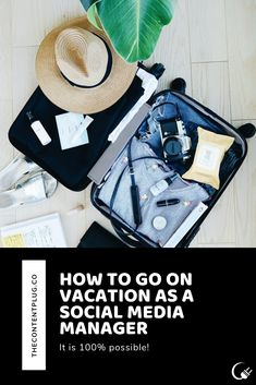 Planning ahead will keep your clients happy while you're out! New Market, To Go, Management, Social Media, Vacation, How To Plan, Happy, Vacations, Ser Feliz