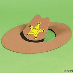 1000 images about things for preschool wild wild west on for Small cowboy hats for crafts