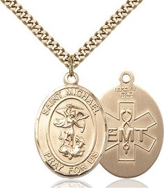 St. Michael / Emt Pendant (Gold Filled) by Bliss | Catholic Shopping .com