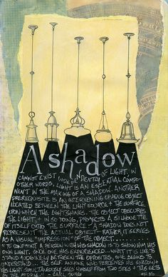 Shadows ~ by AnicaAnscott (A. J. Tallman) on flickr  #journal #thoughts