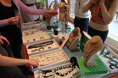 Best Stella & Dot Trunk Show Jewelry Displays