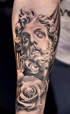 Tattoo Artist - Daniel Rocha - statuary tattoo | www.worldtattoogallery.com