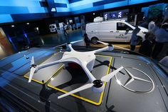Daimler said it would team up with U.S. drone startup Matternet to develop drones for its delivery vans and invest about $560 million over the next five years in designing electric, networked vans.