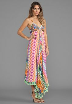 CAMILLA Loom Lovers Triangle Top Maxi Dress in Multi at Revolve Clothing - Free Shipping!