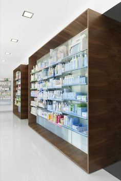 Pharmacy Design   Retail Design   Store Design   Pharmacy Shelving   Pharmacy Furniture   Campos Pharmacy / e 348 Arquitectura