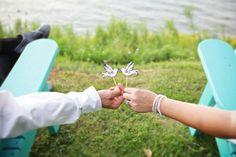 Lakeside wedding #Lake Ontario  We do Doves