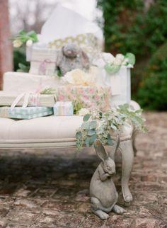 So sweet! Velveteen Rabbit inspired #babyshower via @occasionsmag