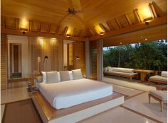 An ocean villa at the Amanyara Resort, Provodenciales, Turks & Caicos, From Conde Nast Traveler