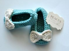 Tiffany & Co Baby BlueBaby Shoes infant shoes by peacesbycortney