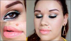 Fique Mais Linda: Makeup para Olhos Castanhos - por Thatiellen Amorim Saiba Mais em http://dicasdemaquiagem.vlog.br/makeup-para-olhos-castanhos-por-thatiellen-amorim/