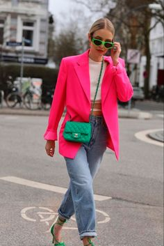Outfit Jeans, Lässigen Jeans, Blazer Outfits, Estilo Fashion, Look Fashion, Ideias Fashion, Girl Fashion, Fashion Outfits, Womens Fashion