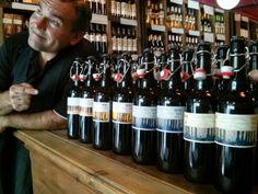 CERVEZA YAÑEZ imaginada al alimón con ORDIO MINERO.Espíritus afines creando nueva original cerveza: Las nuevas cervezas!!