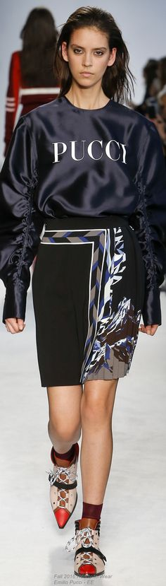 Fall 2016 Ready-to-Wear Emilio Pucci