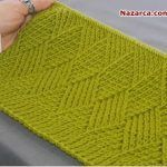 This Pin was discovered by Müş Tips And Tricks, Knitting Stitches, Fingerless Gloves, Arm Warmers, Videos, Knitting Patterns, Weaving, Womens Fashion, Handmade