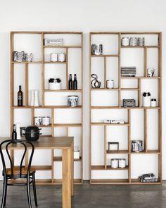 Bookshelf Design, Bookcase Shelves, Wall Shelves, Bookcases, Shelving Decor, Cool Bookshelves, Bookshelf Ideas, Ikea Shelves, Large Shelves