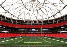 Georgia Dome - Atlanta, GA  Home of the NFL Atlanta Falcons
