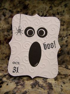 CUTE Ghost Holloween handmade cards. Stampin up products used. in | eBay
