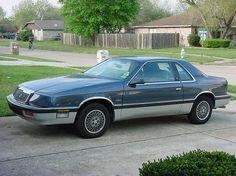 Chrysler Lebaron - lots of luxury