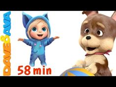 Action Songs for Kids | Kids Songs | Nursery Rhymes and Action Songs from Dave and Ava  - YouTube