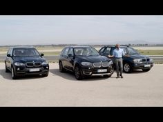 Threesome: All #BMW X5 generations. A work of progress. F15, E70, E53.