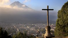Cityscape, Antigua, Guatemala.  Looking forward to going here to help with environmental law next spring.