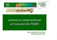 Presentación sobre Necesidades educativas especiales asociadas a TDAH