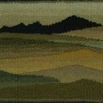 MATTY SMITH. Tapestry with landscape pattern