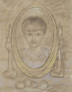 PORTRET DZIEWCZYNKI, 1935 R. Stanisław Ignacy Witkiewicz (Witkacy)