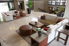 Lobby Hotel Marriott Puebla