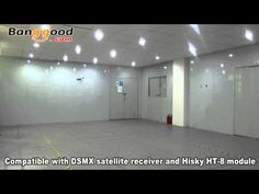 Indoor fly with Hisky HCP100S 6CH Dual Brushless RC Helicopter - YouTube