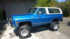 1973 Chevrolet Blazer Blazer K5 4x4