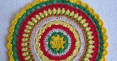 Crochetkari: Crochet Mandala - Rising Sun