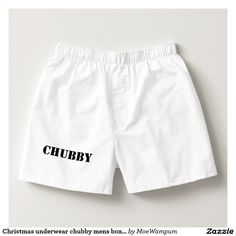 Christmas underwear chubby mens boxers