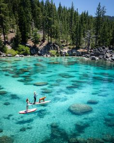 Lake Tahoe SUP! Lake Tahoe in the summer is the ultimate adventure travel destination! This Lake Tahoe itinerary includes all the best things to do at the lake including, hiking, mountain biking, water sports, and all the best photography ops! Beautiful Places To Travel, Cool Places To Visit, Romantic Travel, Beautiful Places In California, Les Continents, Destination Voyage, Photos Voyages, Parcs, Travel Aesthetic