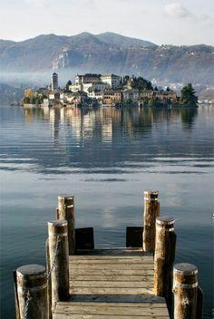 Lago Ort,  Piemont