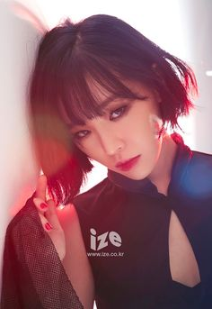 Brown Eyed Girls Ga In - ize Magazine February Issue Korean Beauty, Asian Beauty, Korean Makeup, Korean Girl, Asian Girl, Short Hair Cuts, Short Hair Styles, Ga In, Brown Eyed Girls