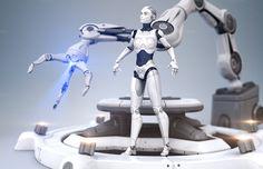 The Age of Robots by iLexx on @creativemarket