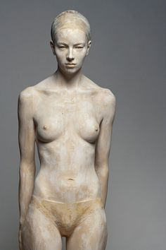Bruno Walpoth wood sculpture