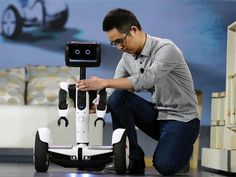 Slideshow : Ninebot Segway personal transportation robot - Latest consumer technology products on display at CES 2016 - The Economic Times