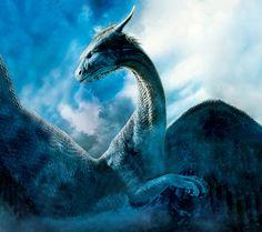Saphira from Eragon. I want a dragon...