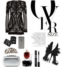 Untitled #4 by oksana-m on Polyvore featuring polyvore fashion style Dolce&Gabbana Giuseppe Zanotti Alexander McQueen Agonist