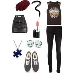 Date to a concert Concert, Polyvore, Outfits, Image, Fashion, Moda, Suits, Fashion Styles, Concerts