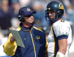 Tedford coaching #8, now #12. Aaron Rodgers' college coach has seen QB's game evolve  #GoBears