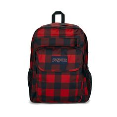 JanSport Union Pack Backpack Pockets on pockets, zippers on flaps, this thing has it all. The Union Pack is that fully loaded top shelf bag with the padded shoulders and everything. If you're the type with lots of organizing to do, this pack will get it done. Jansport Superbreak Backpack, Vogue, Mini Backpack, School Backpacks, Getting Things Done, Laptop Sleeves, Fashion Backpack, Flannel, Pouch