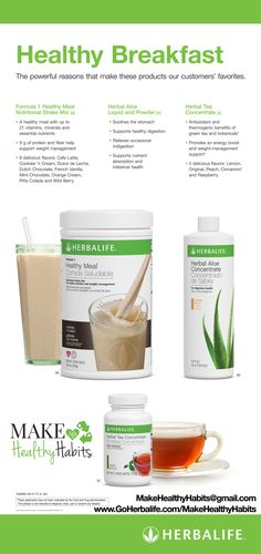 #Herbalife #CleanEating #Breakfast #makehealthyhabits