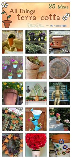 25 Terra Cotta Projects from Hometalk! - All Things Heart and Home