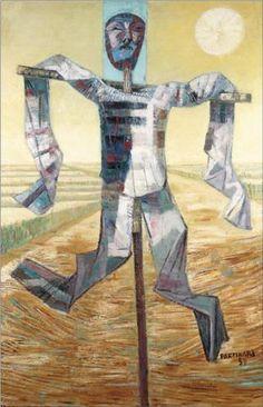 Scarecrow - Candido Portinari