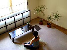 Zen room. Unknown source.