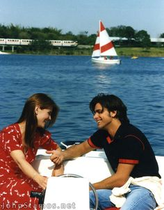 Uncle Jesse and Aunt Becky on their Date in disney, without the kids